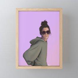 Portrait study no.2 Framed Mini Art Print