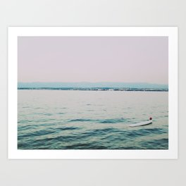 Cant Beat This View Art Print