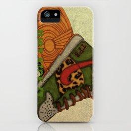 Just Kickin It! iPhone Case