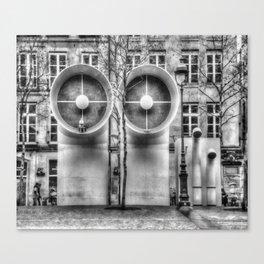 Pompidou center Canvas Print