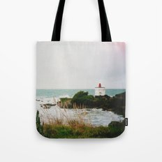 New Zealand: Bluff Lighthouse Tote Bag