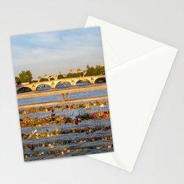 Love padlocks - Paris Stationery Cards