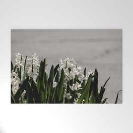 Hyacinth background Welcome Mat