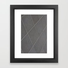 Dresden Pattern Framed Art Print