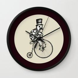 The Slow Bike Race Wall Clock