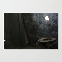 toilet Canvas Prints featuring Toilet? by RCKennerly Photography