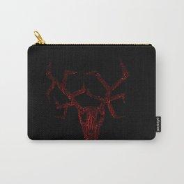Wendigo Dark Red Carry-All Pouch
