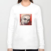grace Long Sleeve T-shirts featuring Grace by Helen Syron