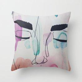 Shut Eye Throw Pillow
