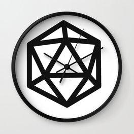 RPG magic dice Wall Clock