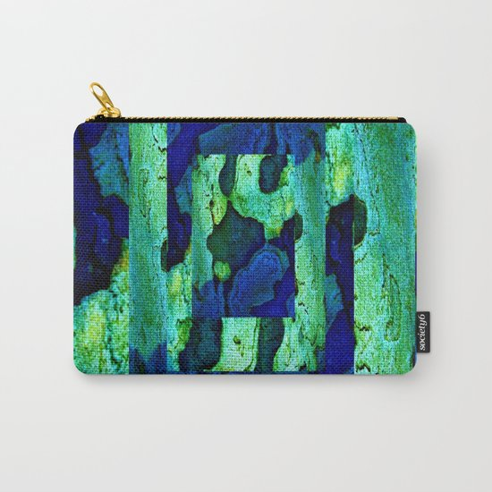 Nature in green blue 2 Carry-All Pouch