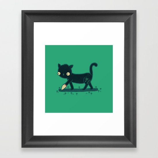 Make Your Own Luck Framed Art Print
