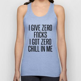 I Give Zero... Unisex Tank Top