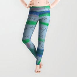 Let's Have Peaceful Relationships Leggings