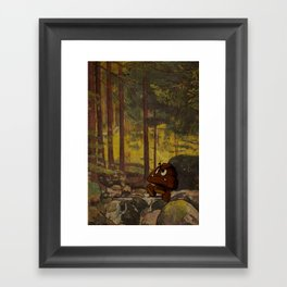 Shitmba Framed Art Print