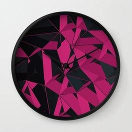 3D Futuristic GEO III Wall Clock