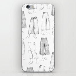 What's in my sketchbook_Culottes iPhone Skin