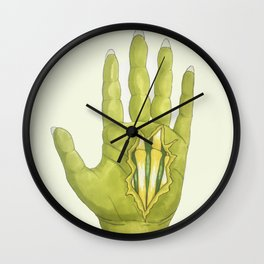 Zombie Claws Wall Clock