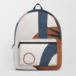 Minimal Abstract Shapes No.33 Backpack