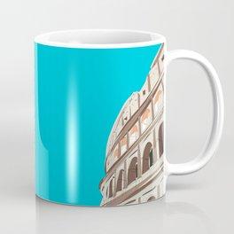 Rome, Italy Colosseum / Roma Il Colosseo, Italia Travel Poster Coffee Mug