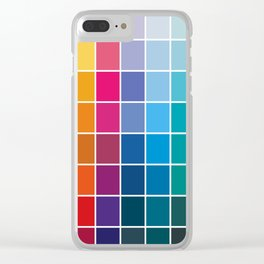 Colorful Soul - All colors together Clear iPhone Case