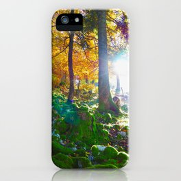 Forest inspiration iPhone Case