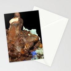 Quartz oxydé, azurite et malachite Stationery Cards