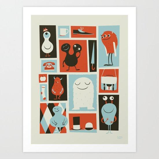 All Set Art Print