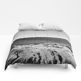 BEACH DAYS XVI BW Comforters