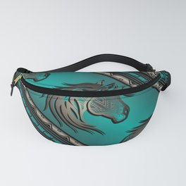 Horse Nation (Aqua) Fanny Pack