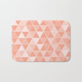Coral Triangles Bath Mat