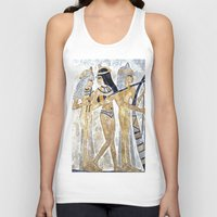 egyptian Tank Tops featuring Egyptian Musicians by Brian Raggatt