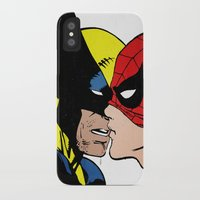 heroes of olympus iPhone & iPod Cases featuring Heroes by Alex Cherry