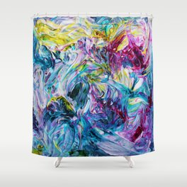 Untitled 4 Shower Curtain