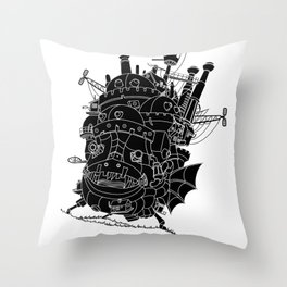 Howl's moving castle. Throw Pillow