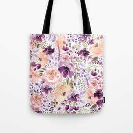 Floral Chaos Tote Bag