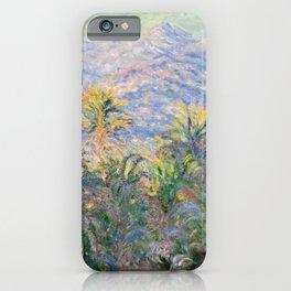 Claude Monet Palm Trees at Bordighera iPhone Case