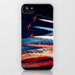 BEAUTIFUL AIRPLANE FORMATION1 iPhone Case