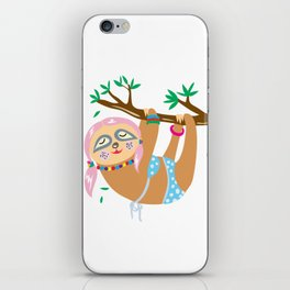 Sexy Sloth iPhone Skin