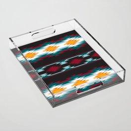 Native American Inspired Design Acrylic Tray