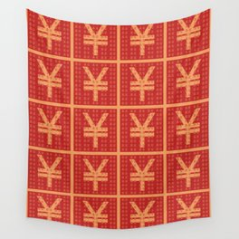 Lucky money RMB Wall Tapestry
