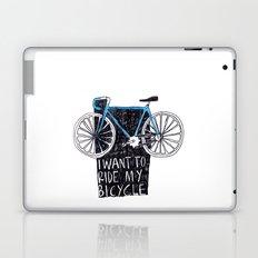 My Bicycle Laptop & iPad Skin