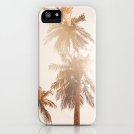 Golden State of Mind - California Palm Trees iPhone Case