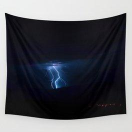 Lightning Strikes - III Wall Tapestry