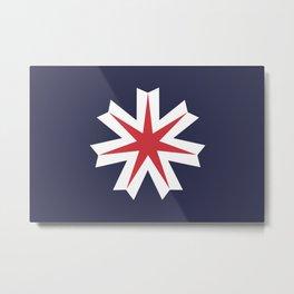 Hokkaido 北海道 Basic Metal Print