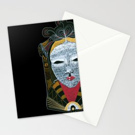 Black MASK Stationery Cards
