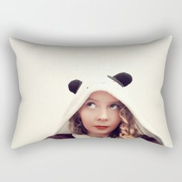Panda Onesie Nomi Rectangular Pillow