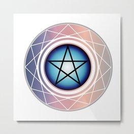 The Pentagram Metal Print