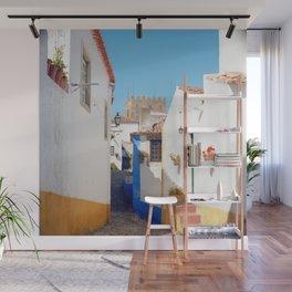 Portugal, Obidos (RR 184) Analog 6x6 odak Ektar 100 Wall Mural