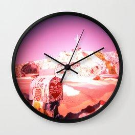 East Jesus California Wall Clock